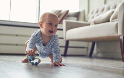 Votre bébé se déplace à 4 pattes