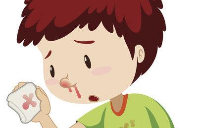 Mon enfant saigne du nez