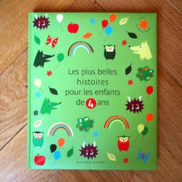 Livre : les plus belles histoires pour enfant de 4 ans